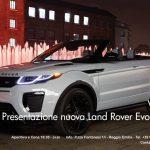 Presentazione Nuova Land Rover Evoque!