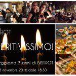 13 Novembre – Festeggia con noi!