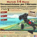 Serata degustazione dedicata all' ABRUZZO! Martedì 14 marzo Bistrot Fattorie Canossa