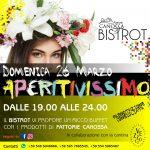 Bistrot Fattorie Canossa – Vi aspettiamo il 26 marzo, Aperitivissimo!
