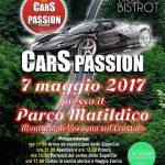 Cars Passion – Parco Matildico 7 maggio 2017!